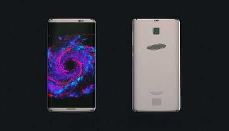 Chiem nguong Samsung Galaxy S8 voi ngoai hinh tuyet dep nhu chi co trong mo - Anh 1