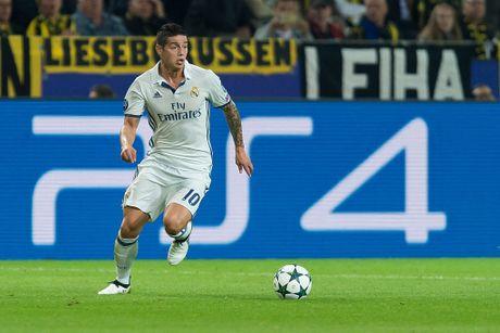 Real Madrid ngam trai dang vi James Rodriguez - Anh 1