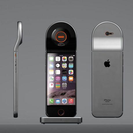Y tuong iPhone lai dien thoai de ban - Anh 3