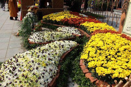 Van nguoi tray hoi hoa cuc chua Ba Vang - Anh 5
