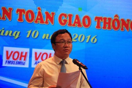 4.000 nguoi tham gia ket noi cong dong - Vi ATGT tai Binh Dinh - Anh 1