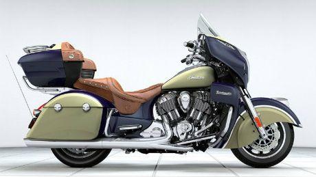 2017 Indian Roadmaster du suc 'ha guc' Harley-Davidson - Anh 1