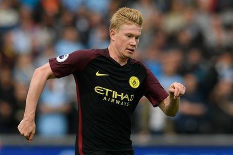 Kevin de Bruyne dem tin vui cho Man City - Anh 1