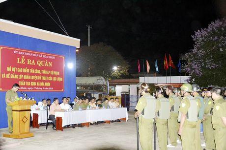 Ky niem 66 nam Ngay thanh lap luc luong Cong an xa (10-10-1950 - 10-10-2016): Cong an o xa - Anh 1