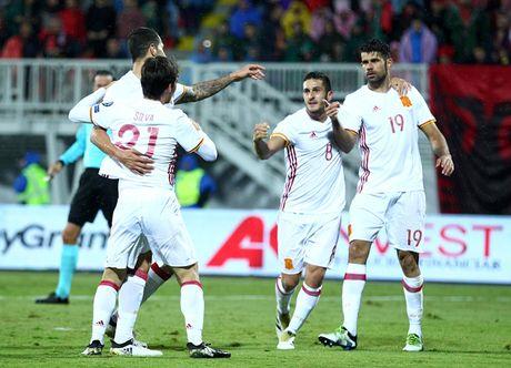Vong loai World Cup 2018: Sao Premier League giup Tay Ban Nha vuot qua Albania - Anh 1