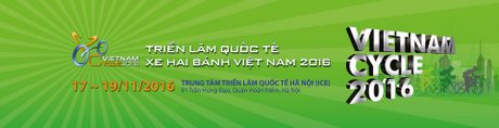 Trien lam xe hai banh Vietnam Cycle 2016 chuan bi dien ra tu 17-19/11 tai Ha Noi - Anh 1