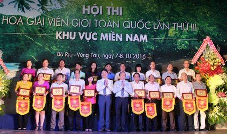 Binh Duong gianh giai Nhat thi Hoa giai vien gioi khu vuc mien Nam - Anh 1