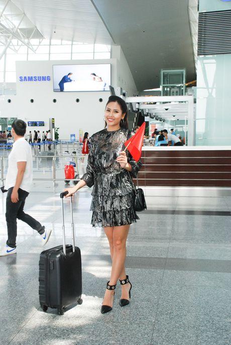 Nguyen Thi Loan rang ro len duong sang My tham du HH Hoa Binh Quoc te 2016 - Anh 1