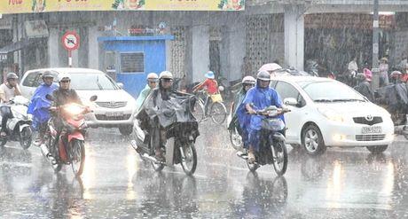 Thời tiết ngày 10-10: Các tỉnh phía Nam có mưa to vào chiều tối
