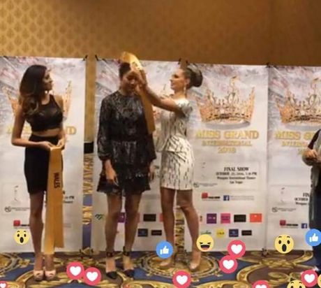 Nguyen Thi Loan tu tin o Miss Grand International 2016 - Anh 3