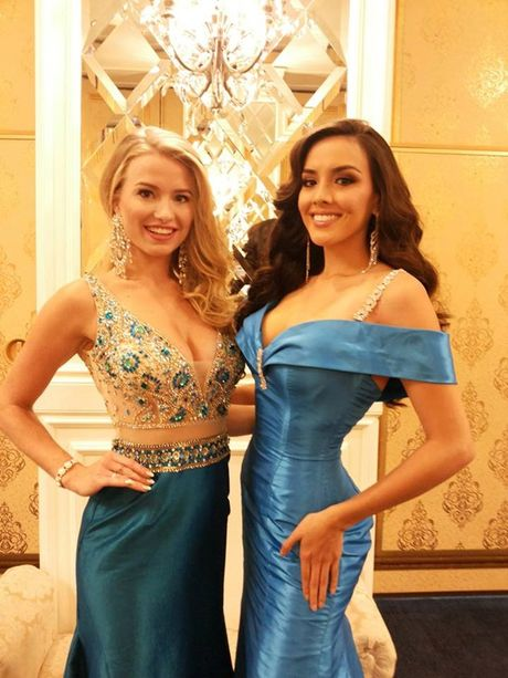 Nguyen Thi Loan tu tin o Miss Grand International 2016 - Anh 7
