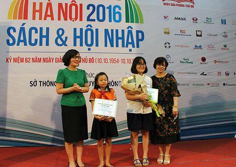 Ha Noi trao giai cuoc thi Dai su Van hoa doc 2016 - Anh 2