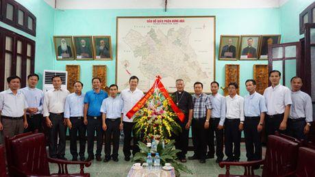 Cong an Ha Noi chuc mung 11 tan linh muc Giao phan Hung Hoa - Anh 1