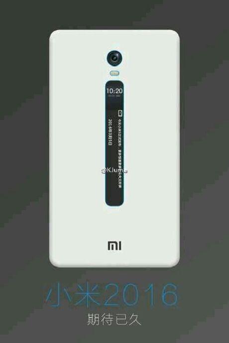 Lo dien hinh anh Xiaomi Mi 5c va mot thiet bi Xiaomi bi an voi man hinh E-ink - Anh 3