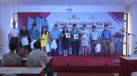 Ban giao toa Bac du an Nha o xa hoi Rice City Linh Dam - Anh 1
