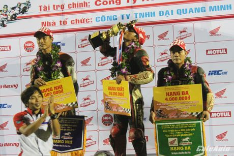 Giai dua xe mo to cup quoc gia vong 11 nam 2016: Kich tinh den phut cuoi cung - Anh 7