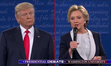 Thi truong tai chinh tang diem manh nho tin vao kha nang ba Clinton danh bai Donald Trump - Anh 1