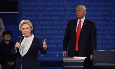 Bao My noi ve cuoc doi dau 'den toi' Trump - Clinton - Anh 1