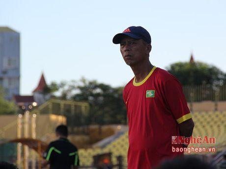 U.21 SLNA that bai truoc duong kim vo dich Ha Noi T&T - Anh 2