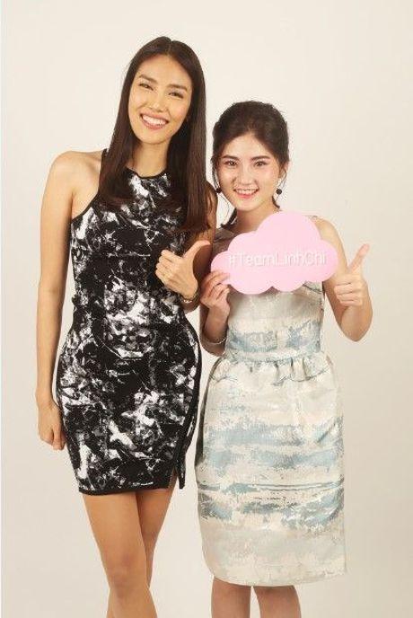 HLV Lan Khue tan tam chi dan cho top 3 - miss NSTT 360mobi trong buoi chup anh - Anh 11