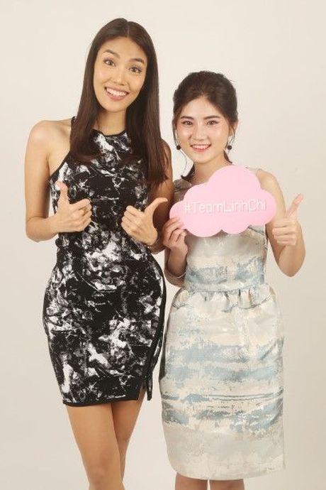 HLV Lan Khue tan tam chi dan cho top 3 - miss NSTT 360mobi trong buoi chup anh - Anh 12