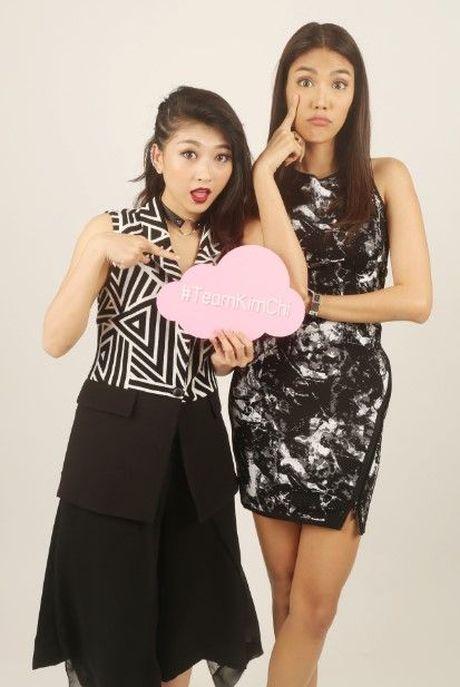 HLV Lan Khue tan tam chi dan cho top 3 - miss NSTT 360mobi trong buoi chup anh - Anh 13