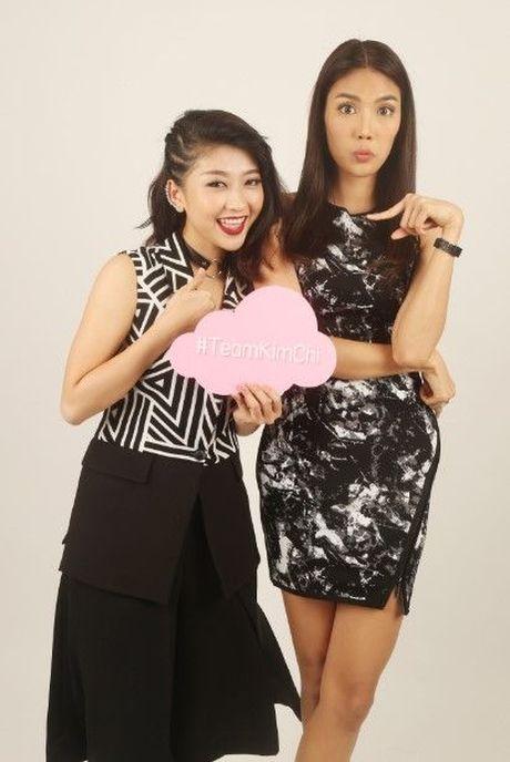 HLV Lan Khue tan tam chi dan cho top 3 - miss NSTT 360mobi trong buoi chup anh - Anh 14