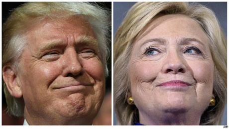 Hillary Clinton va Donald Trump quyet dau trong tranh luan lan 2 - Anh 1