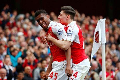 "Arsenal len ke hoach ""troi chan"" Iwobi va Bellerin - Anh 2"