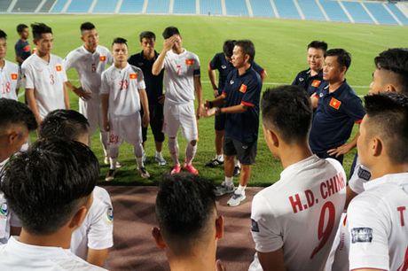 U19 Viet Nam truoc giai U19 chau A: Lay cam hung tu DTQG - Anh 1
