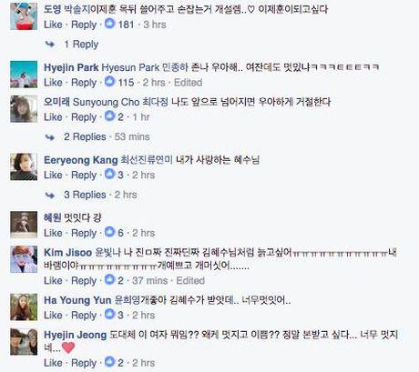 Phan ung 'Khoi can nha' cua nu dien vien Kim Hye Soo khi bi vap nga tai 'tvN10 Awards' bong gay sot - Anh 4