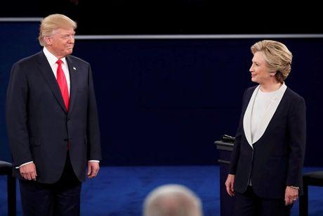 Tranh luan lan hai giua Clinton va Trump - Anh 1