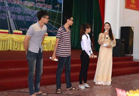 Thai Nguyen: Quyet liet vi muc tieu 6 nam lien giam TNGT - Anh 1