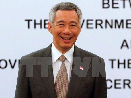 Thu tuong Singapore Ly Hien Long tham chinh thuc Australia - Anh 1