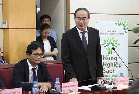 Chuong trinh truyen hinh thuc te 'Nong nghiep sach' phat song tu 1/11 - Anh 1