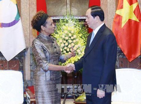 Lanh dao Nha nuoc, Quoc hoi tiep Tong Thu ky Phap ngu - Anh 1