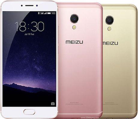 Meizu MX6 trinh lang: Vi xu ly 10 loi, 4GB RAM, cam ung van tay - Anh 1
