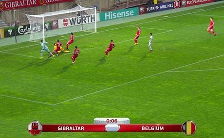Lap hat-trick giup Bi dai thang, Christian Benteke di vao lich su World Cup - Anh 2