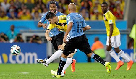 VL World Cup 2018 khu vuc Nam My: Tam diem Colombia - Uruguay - Anh 1