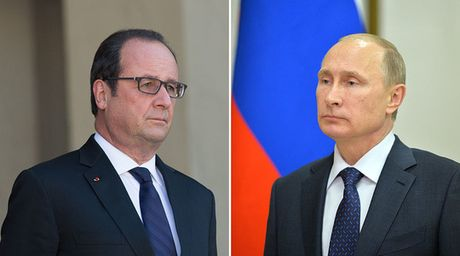 Huc hac ve Syria, ong Putin huy tham Phap - Anh 1