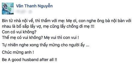 Van Hugo phan ung nhu the nao khi nghe tin chong cu sap lay vo? - Anh 2