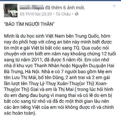 Tin tuc moi nhat vu be gai 12 tuoi mang thai o Trung Quoc - Anh 2