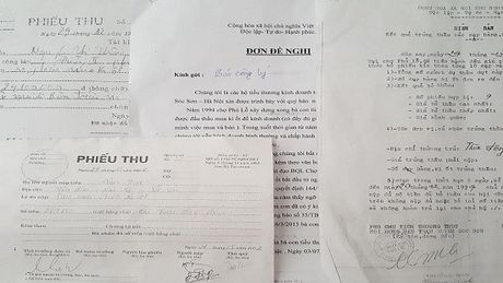 Cac tieu thuong cho Phu Lo phan doi quyet dinh cua UBND huyen va Ban quan ly cho - Anh 2