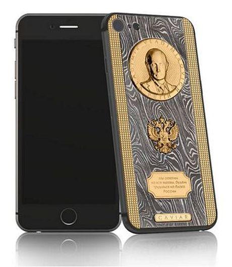 Ngam nhin chiec iPhone 7 sieu 'doc' cua Tong thong Nga - Anh 1
