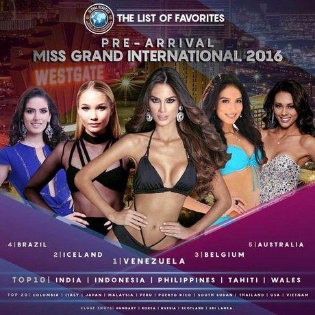 Nguyen Thi Loan he lo ve 'doi thu' tai Miss Grand International 2016 - Anh 1
