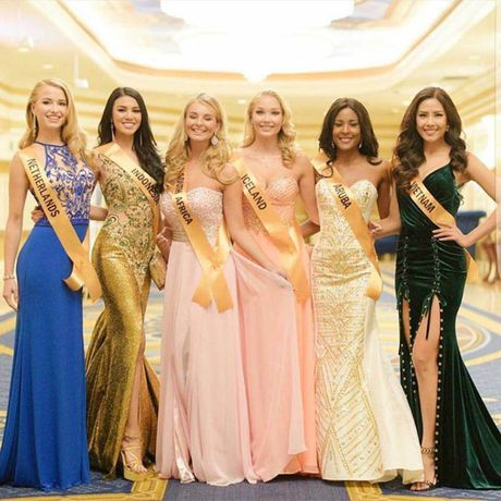 Nguyen Thi Loan he lo ve 'doi thu' tai Miss Grand International 2016 - Anh 2