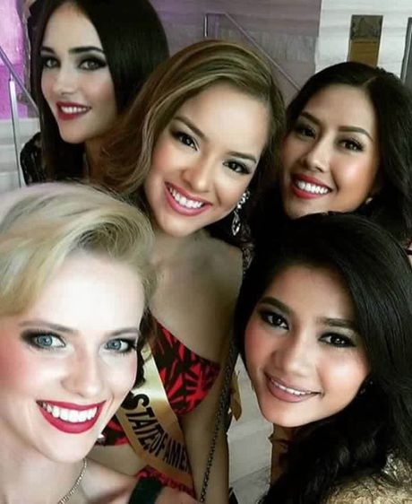 Nguyen Thi Loan he lo ve 'doi thu' tai Miss Grand International 2016 - Anh 3