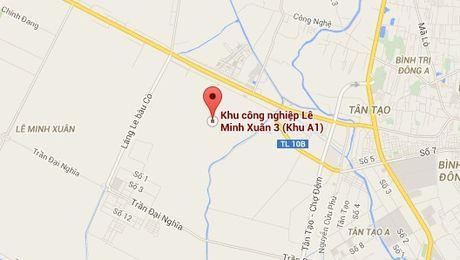 TP.HCM: Xay dung KCN Le Minh Xuan 3 de di doi co so gay o nhiem tai Quan 12 - Anh 1