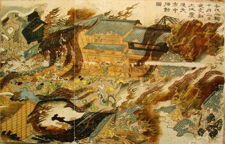 Bi an bo Kimono rung ron khien 3/4 Tokyo xua chim trong bien lua - Anh 4