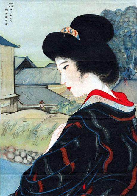 Bi an bo Kimono rung ron khien 3/4 Tokyo xua chim trong bien lua - Anh 5